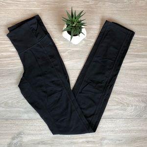 Black ATHLETA Leggings, Athletic Skinny Bottoms